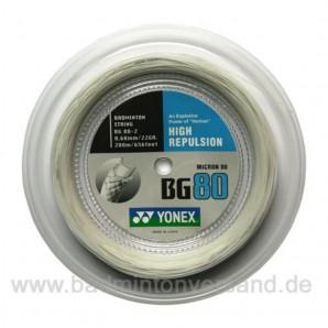 Yonex BG 80 200m - weiß