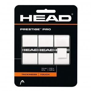 HEAD Prestige Pro Overgrip, weiß- 3er