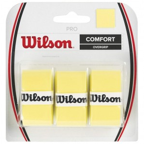 Wilson Pro Overgrip - gelb 3er Pack