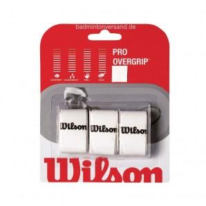 Wilson Pro Overgrip - weiß 3er Pack