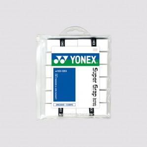Yonex Overgrip AC102 12er Pack - weiß