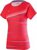 VICTOR T-Shirt T-01003 - RED DAMEN