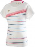 VICTOR T-Shirt T-01003 - WHITE Damen