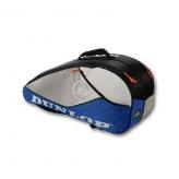 Dunlop AeroGel 4D 6er Racket Bag Blau