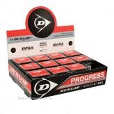 Dunlop Squashball Progress 12 Stück