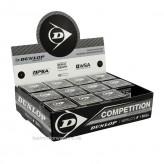 Dunlop Squashball Competition 12 Stück