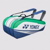 Yonex Tournament Basic Bag 7529 blau/grün/weiß