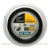 Yonex BG 65 200 m - schwarz