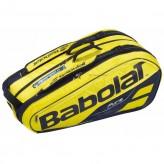 Babolat Pure Aero Racket Holder X9 Schlägertasche - Gelb, Schwarz