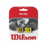 Wilson Pro Feel Dämpfer 2er Pack gelb/gold