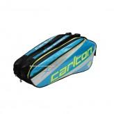 Carlton Kinesis Tour 2Comp Racket Bag blau/schwarz/gelb