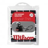 Wilson Pro Overgrip Sensation - schwarz 12er Pack