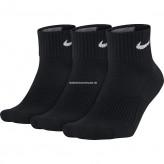 Nike Herren Strümpfe Cushion Quarter, 3er Pack L