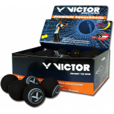 Victor Squashball - 12 Stück - verschiedene Geschwindigkeiten